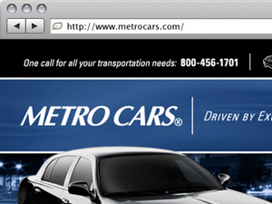 Metro Cars Website