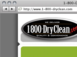 1-800-DryClean Website Redesign