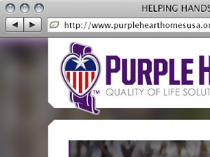 PurpleHeartHomes Website