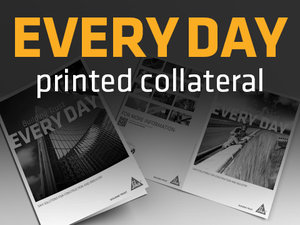 EVERY DAY Sika – Printed Collateral