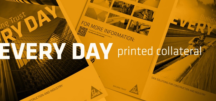Every Day - Printed Collateral